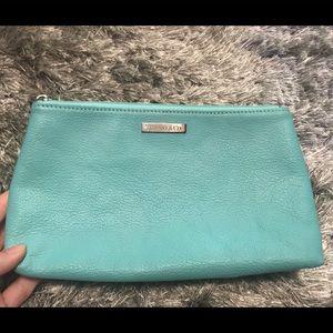 Tiffany Makeup Bag- Leather